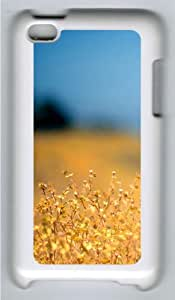 Apple iPod 4 Case and Cover - Weeds Custom Design Polycarbonate Hard Case Cover for iPod 4/ iPod 4th Generation - White