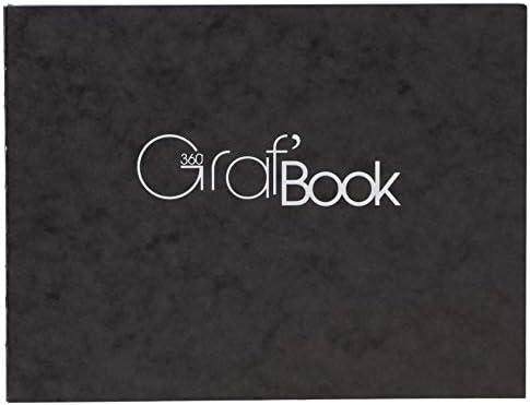 Clairefontaine GRAF 360スケッチブック 風景 5.8×8.25インチ 100枚 (975804)