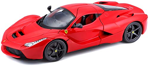 Bburago 1:18 Scale Ferrari Race and Play LaFerrari Diecast Vehicle (Colors May - Diecast Scale Toy