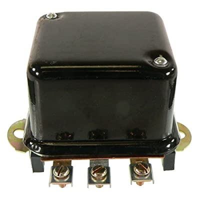 DB Electrical GDR6003 Tractor Generator Voltage Regulator Two Unit A Circuit 6V Pos Ground
