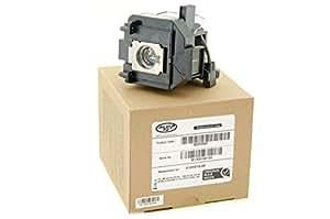 Alda PQ Original, Lámpara de proyector para EPSON PowerLite HC 5010e Proyectores, lámpara de marca con PRO-G6s viviendas