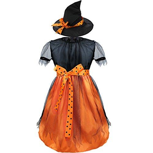Con Abiti Strega Di Cosplayparty Dei Halloween Il Ragazze Da Costume Vestono Capretti Cappello Tiaobug Maglia ZXPwx8n1