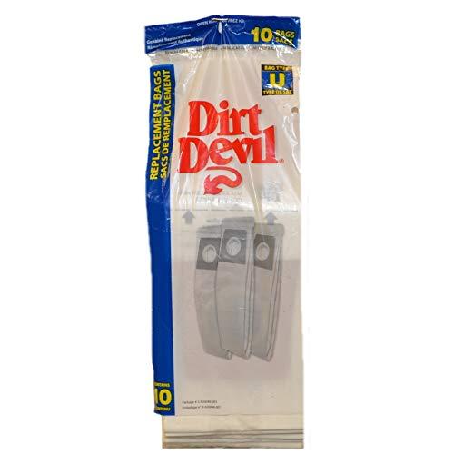 Royal Dirt Devil 3920048001 Paper Bag, Royal Style U Ultra 89200 10 Pk