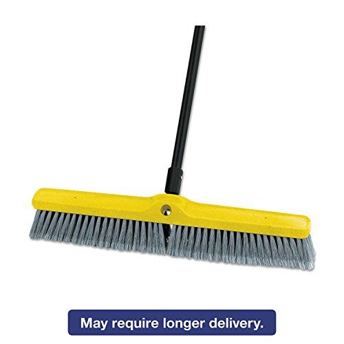 Rubbermaid Medium Floor Sweeper Head, 24'', Polypropylene/Tampico, 12/Carton 9B11 GRA by Rubbermaid Commercial