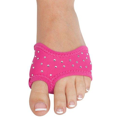 Danshuz Neoprene Half Soles Hot Pink with Rhinestones oAGoniD