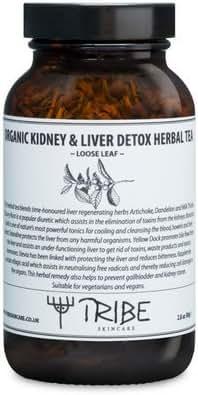 Tribe Skincare Organic Kidney & Liver Detox Herbal Tea