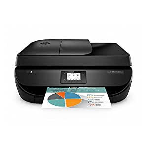 HP OfficeJet 4650 Wireless All-in-One Photo Printer with Mobile Printing, Instant Ink ready (F1J03A)
