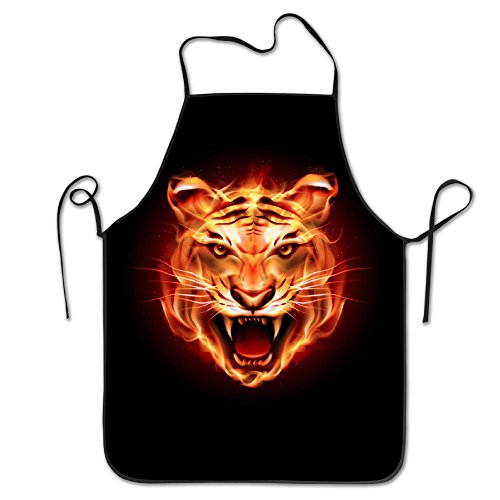 Womens Flaming Tiger - 7
