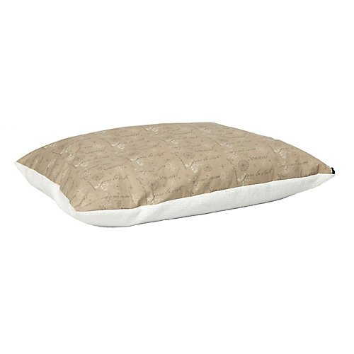 Midwest Homes for Pets Polyfill Pillow Script, Tan, 36'' x 48''