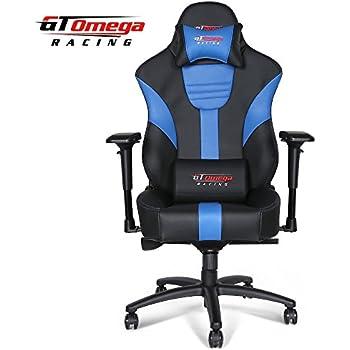 Amazon Com Gt Omega Master Xl Racing Office Chair Black