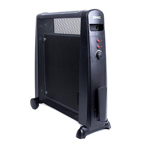 Duronic HV101 2500W Radiant Konvektor Heizung mit Thermostat- Ölfreie Heizung- wärmt in einer Minute auf- 2 Jahre Garantie