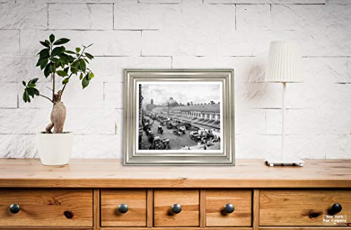 New York Map Company  Boston Historic Black & White Photo, Quincy Market, Boston, Mass, c1904, |Size: 8x10|Ready to Frame