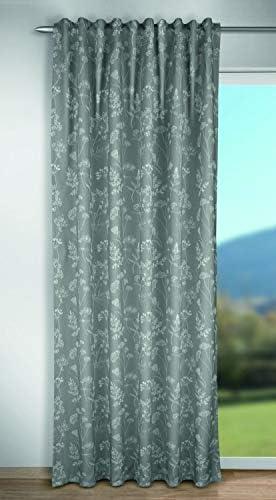 Albani Celine – Tenda con passanti nascosti, 245 x 135 cm, colore: Grigio
