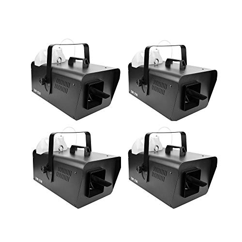 Chauvet DJ Atmospheric Effect High Output Snow Machine with Wired Remote | SM250 (4 Pack)