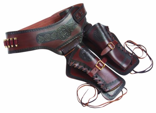 - Denix Old West Double Rig Holster with Replica Bullets