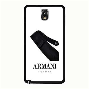 Wonderful Design Luxury Armani Logo Cover Case for Samsung Galaxy Note 3 N9005 Famous Popular Brand Armani Logo Phone Case