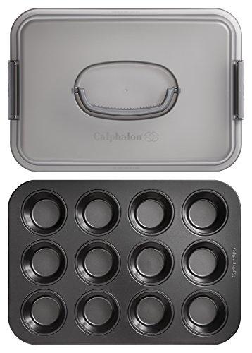 Calphalon Signature Nonstick Bakeware 2-piece Muffin Set, 2000638