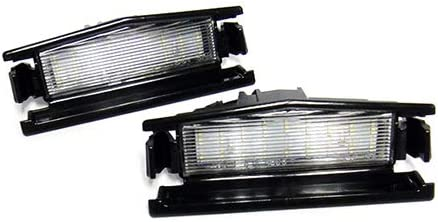2x LED Licence Number Plate Light White Canbus For 2015-up MX-5 Miata Roadster IV ND Mazda2