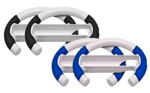 Maximum Games Washable Turbo Wheel Bulk (4-Pack) - Nintendo Wii (Turbo Wheel Wii)