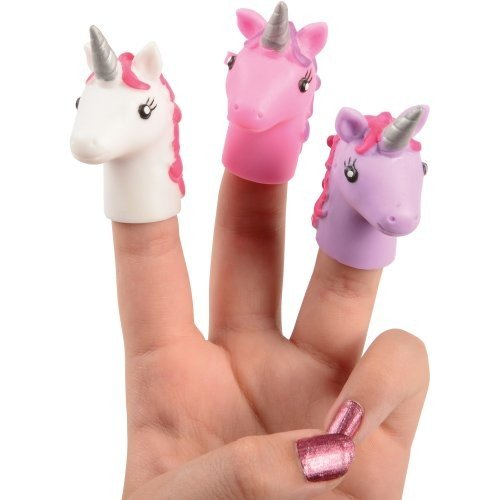 UNICORN FINGER PUPPETS / 48-PC, SOLD BY 2 BOXES