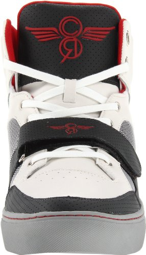Creative Recreation Mens Cota Fashion Sneaker Charcoal / Cloud / Scarlet