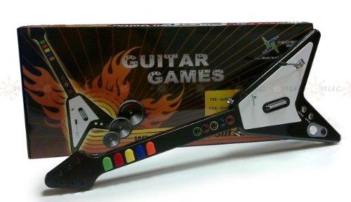 Guitarra WII / PS2 / PS3: Amazon.es: Videojuegos