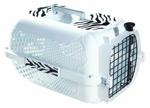 Voyageur Pet Carrier - Catit Style White Tiger Voyager, White - Small