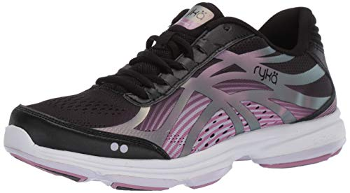 Ryka Women's Devotion Plus 3 Walking Shoe, Black, 7.5 M US