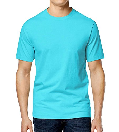 Club Room Men's Paxton Crew-Neck T-Shirt (X-Large, Sweetwater)