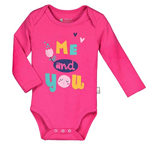 Taille 62 cm 3 mois Lot de 2 bodies manches longues b/éb/é fille Me and You