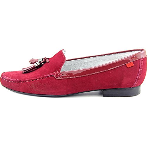 Marc Joseph NY/tamaño de las mujeres borla de Wall Street Loafer zapatos de moda (más colores disponibles) Cranberry