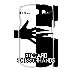 TOSOUL Custom painting Edward Scissorhands Phone 3D Case For Samsung Galaxy S3 I9300 [Pattern-3]