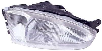 Fits 1997-2002 Mitsubishi Mirage Headlight Pair Driver Passenger Side w//Bulbs