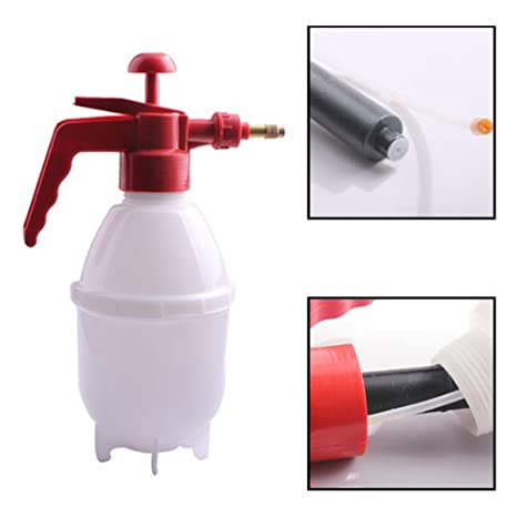 Rrimin Portable 800 ML Chemical Garden Sprayer Pressure Spray Bottle Plant Water