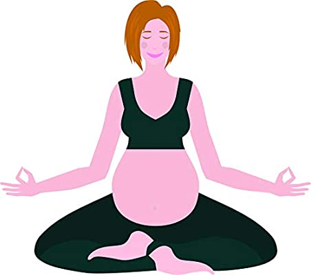 Amazon.com: Simple Yoga Poses Relaxed Embarazo Mujer Salud ...