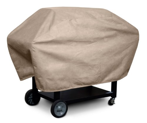 KOVERROOS III 33054 X-Large Barbecue Cover, 29-Inch Diameter by 66-Inch Width by 45-Inch Height, Taupe