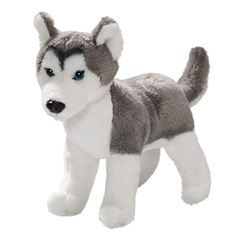 - Carl Dick Husky sled Dog Standing About 6.5 inches/16cm Long, About 5.5 inches/15cm high, Plush Toy, Soft Toy, Stuffed Animal 3409002