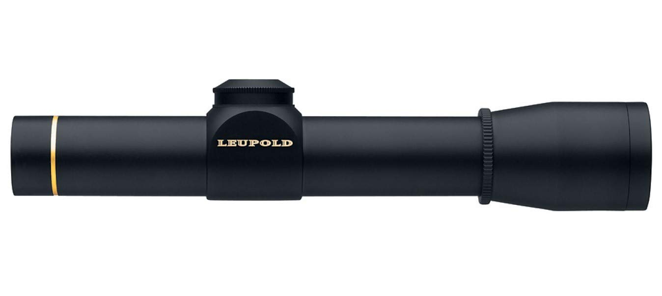 Leupold, FX-II Rifle Scope, Ultralight, 2.5x20mm, 1 Main Tube, Wide Duplex Reticle, Matte Black