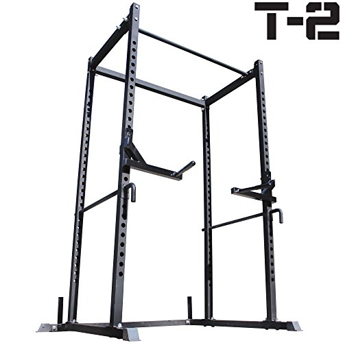 Titan Squat Deadlift HD Lift Cage Bench Racks Stand