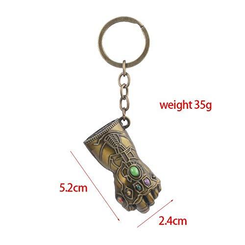 Shazam Keychain Necklace Metal Alloy Billy Batson Link Chain Keyring Pendant Men Key Chain Movie Jewelry