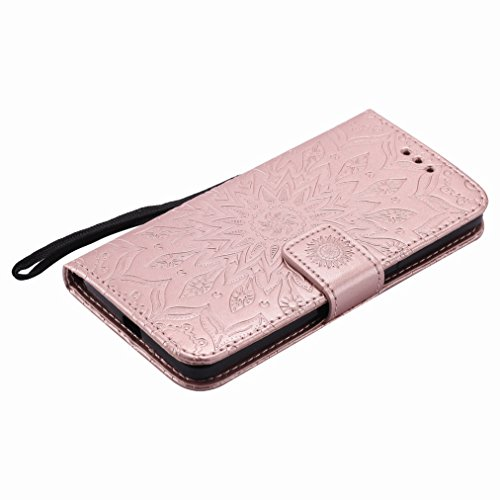 Shell Cards Sun Petals Housing Flap Slot Stand Design Skin Flip Bumper Case Case Protective Cover Case Leather Shell Wallet 650 Cover Style Pu Lumia Premium Microsoft Yiizy Slim FqXp17