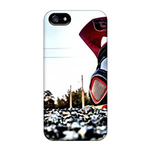 Iphone 5/5s ZAGsrdy3659cUeEL Downhill Biking Helmet Sports Tpu Silicone Gel Case Cover. Fits Iphone 5/5s