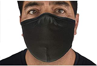 product image for DOUBLE LAYER, ANTI-MICROBIAL ADJUSTABLE MASK (Black)