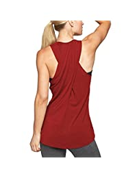 Clothing Kingfansion �� Women's Cross Back Yoga Shirt Workout Active Tank Top