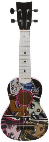 Monster High 21-Inch Acoustic Guitar - Styles May Vary (86048) by Monster High