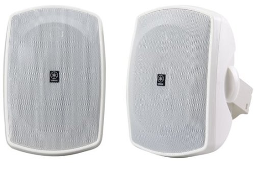 Yamaha NS-AW390WH 2-Way Indoor/Outdoor Speakers (Pair, White) (Discontinued by Manufacturer) by Yamaha Audio