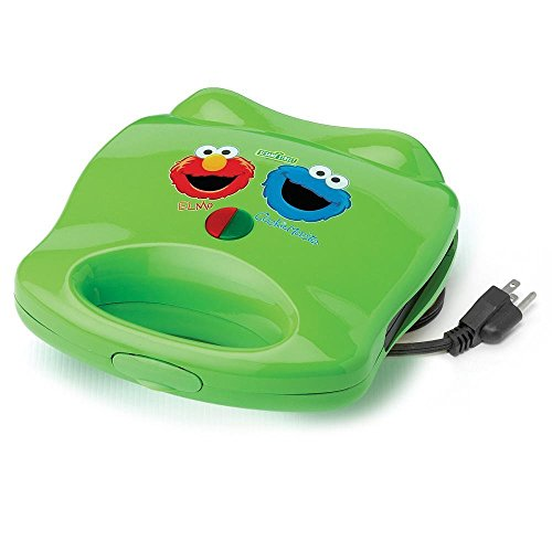 (Sesame Street Elmo & Cookie Monster Electric Sandwich Maker)