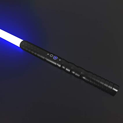 3 Sets of Sound Effects,Blue USB 5W Ultimate Dueling Lightsaber with Metal Hilt XALO Lightsabers Electric Galaxy Edge Lightsaber for Kids /& Adults