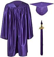 GraduationMall Shiny Kindergarten & Preschool Graduation Gown Cap Set with 2020 Ta