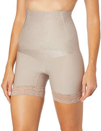 Shorts modelador Boxer Lace, Plié, Feminino, Blush, M